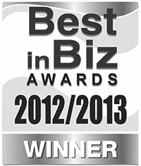 Best in Biz Awards 2012/2013