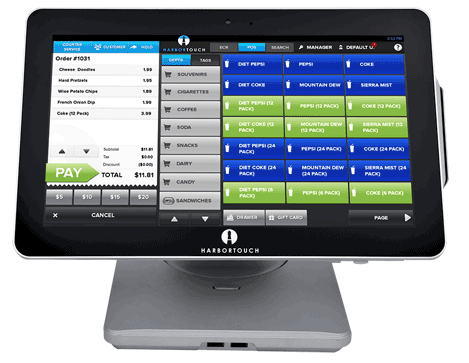 Harbortouch Echo POS System for Small Businesses