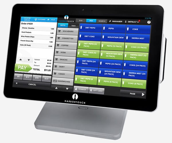 Harbortouch Echo - Point of Sale System for Small Businesses
