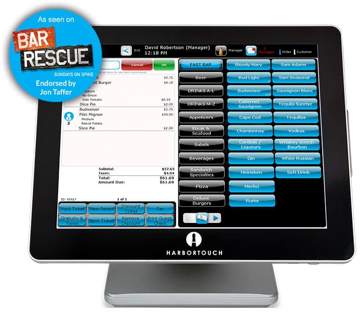 Harbortouch POS Software | Free Point of Sale Software and