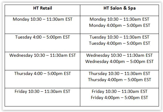 Harbortouch Software Demo Schedule