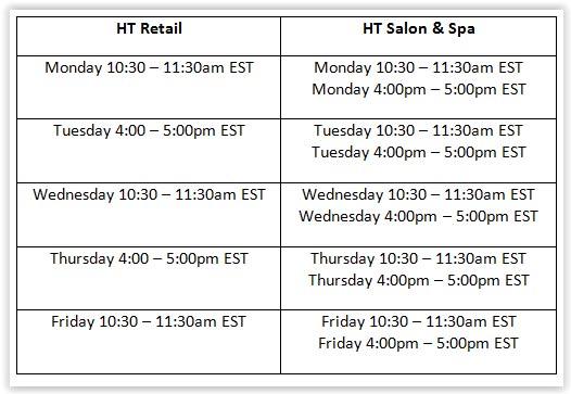 Harbortouch Software Demo Schedule