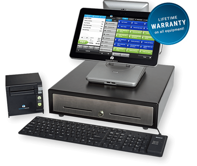 Harbortouch Echo POS System Lifetime Warranty