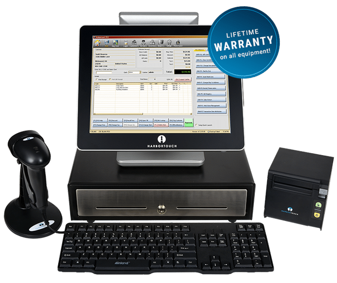 Retail POS Software and Hardware by Harbortouch
