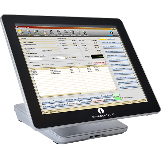 Harbortouch Retail Point of Sale Terminal