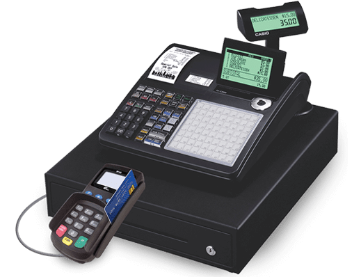 Cash Register Free Casio 174 Electronic Cashier Register