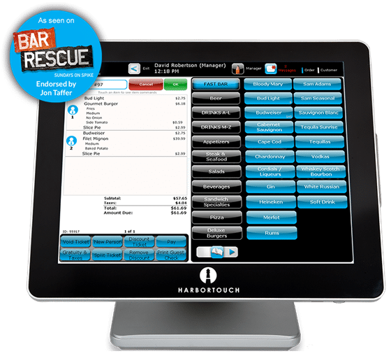 POS System for Restaurants by Harbortouch