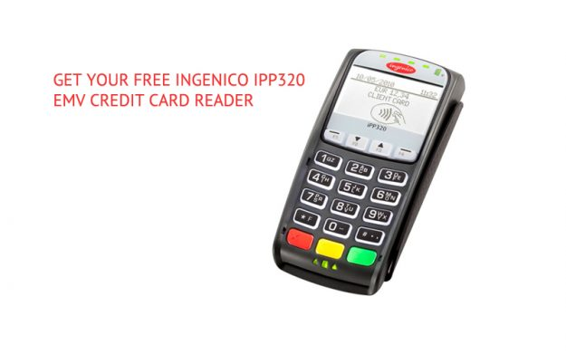 Free EMV Credit Card Reader for Restaurants and Bars – Ingenico iPP320
